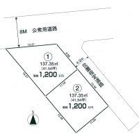 中新田 区画図