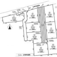 太田ヶ谷Ⅱ 区画図